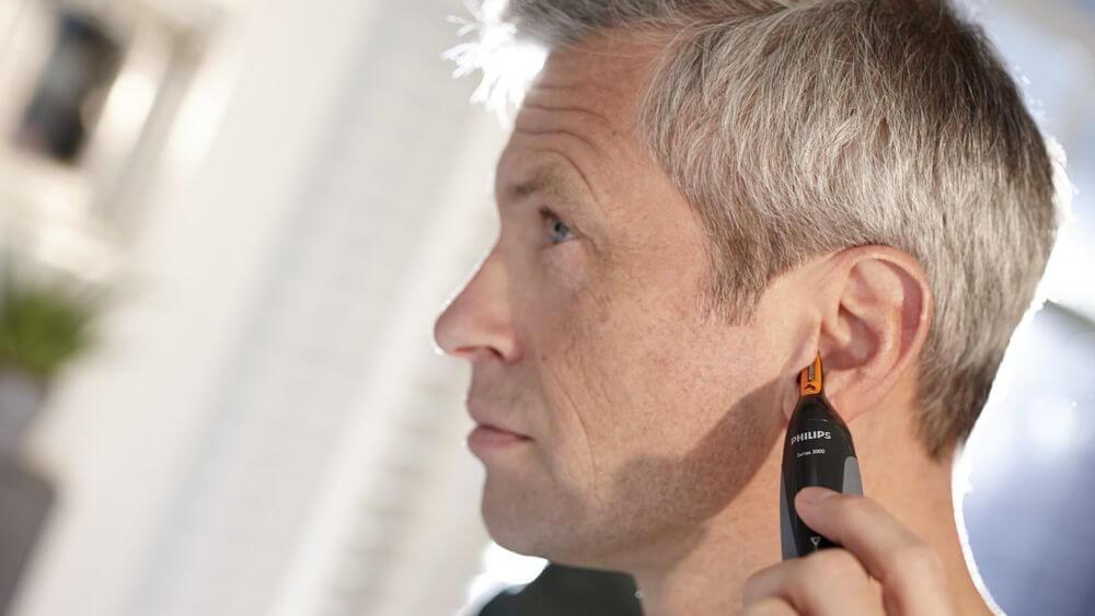 Волосатость ушей